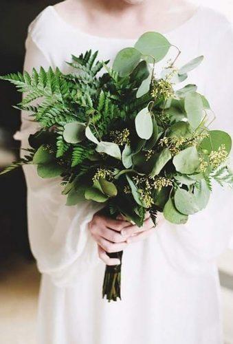 elegant wedding bouquets total green bouquet agma studio dekoracji
