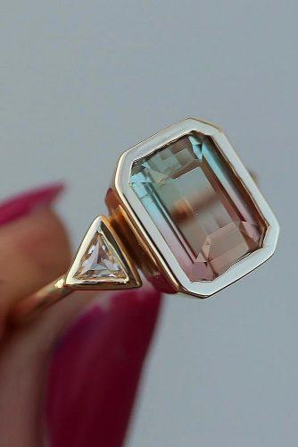 Wedding Gemstone Colored Rings