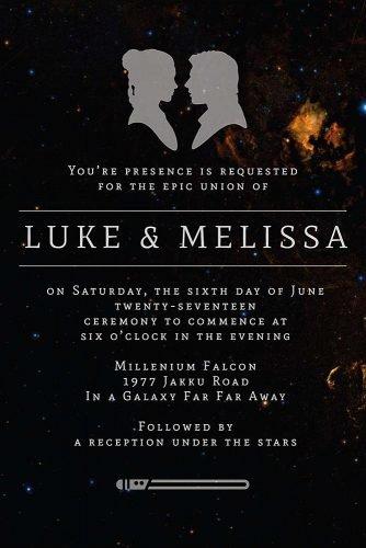 Star Wars Wedding Ideas For True Fans