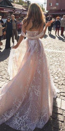 a line wedding dresses off the shoulder blush dimitriusdalia