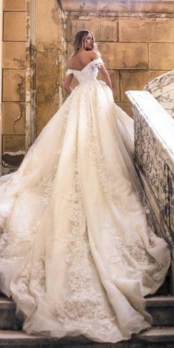 wona váy cưới dạ hội lệch vai ren hoa phong lan Ảnh váy cưới lấp lánh