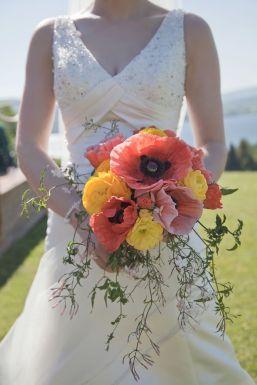 50 dos melhores buquês de casamento para noivas e empregadas domésticas © gailkelly.com