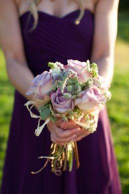 50 dos melhores buquês de casamento para noivas e empregadas domésticas © natashahurley.com