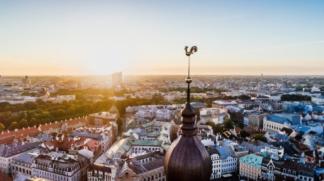 Riga Skyline - The 5 Hottest Hen Weekend Locations in Europe