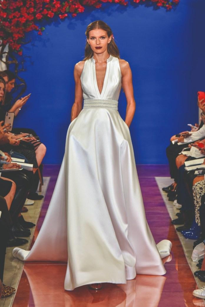 """theia-deep-v-neckline-dress """"width ="""" 800 """"peak ="""" 1199 """"srcset ="""" https://www.weddingideasmag.com/wp-content/uploads/2017/10/theia-deep-v-neckline -dress.jpg 800w, https://www.weddingideasmag.com/wp-content/uploads/2017/10/theia-deep-v-neckline-dress-200x300.jpg 200w, https://www.weddingideasmag.com http://www.weddingideasmag.com/wp-content/uploads/2017/10/theia-deep- v-neckline-dress-534x800.jpg 534w """"sizes ="""" (max-width: 800px) 100vw, 800px """"/> <figcaption id="""