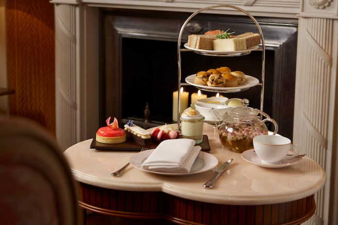 Afternoon tea at The Rose Lounge