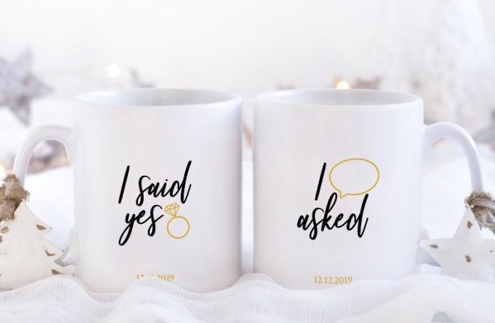"i-said-yes-mugs-christmas-proposal-ideas ""width ="" 800 ""top ="" 522 ""srcset ="" https://www.weddingideasmag.com/wp-content/uploads/2019/11/i-said -yes-mugs-christmas-proposal-ideas.jpg 800w, https://www.weddingideasmag.com/wp-content/uploads/2019/11/i-said-yes-mugs-christmas-proposal-ideas-300x196. jpg 300w, https://www.weddingideasmag.com/wp-content/uploads/2019/11/i-said-yes-mugs-christmas-proposal-ideas-768x501.jpg 768w, https: //www.weddingideasmag. com / wp-content / uploads / 2019/11 / i-said-yes-mugs-christmas-proposal-ideas-650x424.jpg 650w ""sizes ="" (max-width: 800px) 100vw, 800px ""/></p data-recalc-dims="