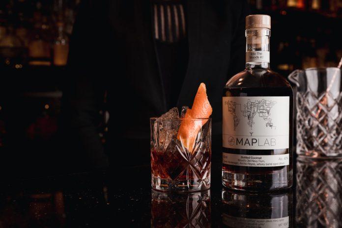 Takeaway cocktails Map Maison