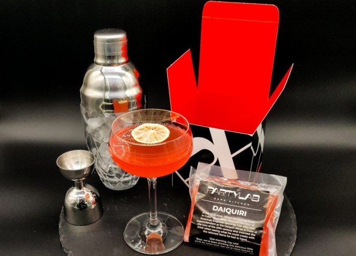 Party lab cocktail delivery