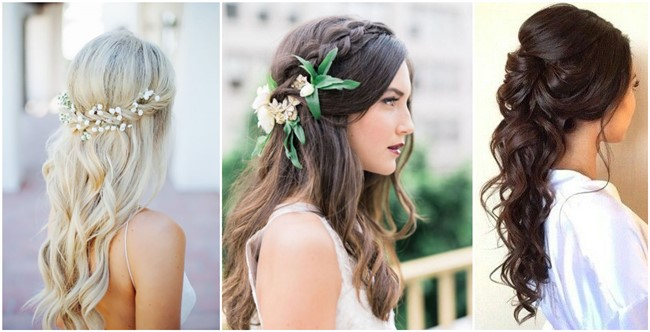 Image Result For Bridesmaid Hairstyles Long Hair Down