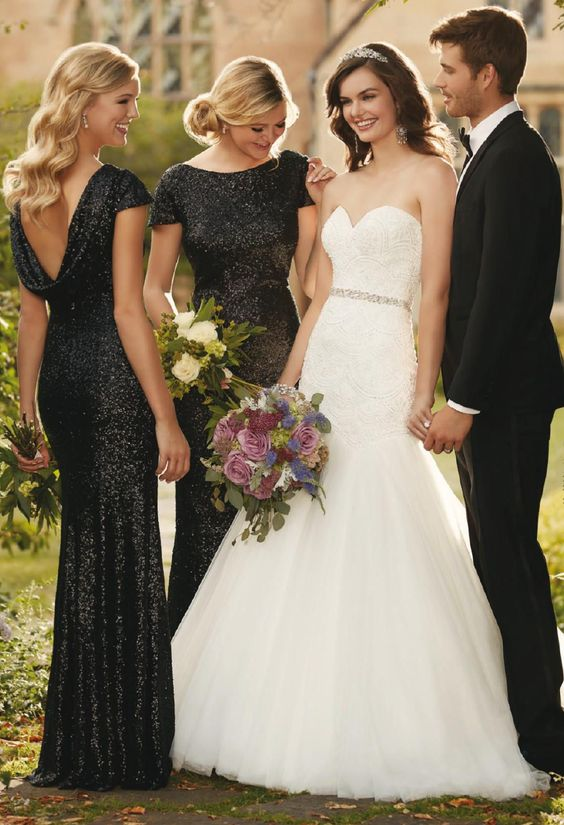 Dont Miss These 22 Black Bridesmaid Dresses For Your Fall