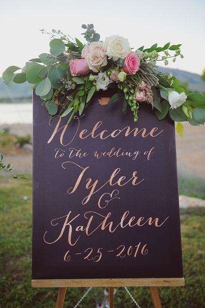 25 Awesome Wedding Welcome Signs To Rock Page 2