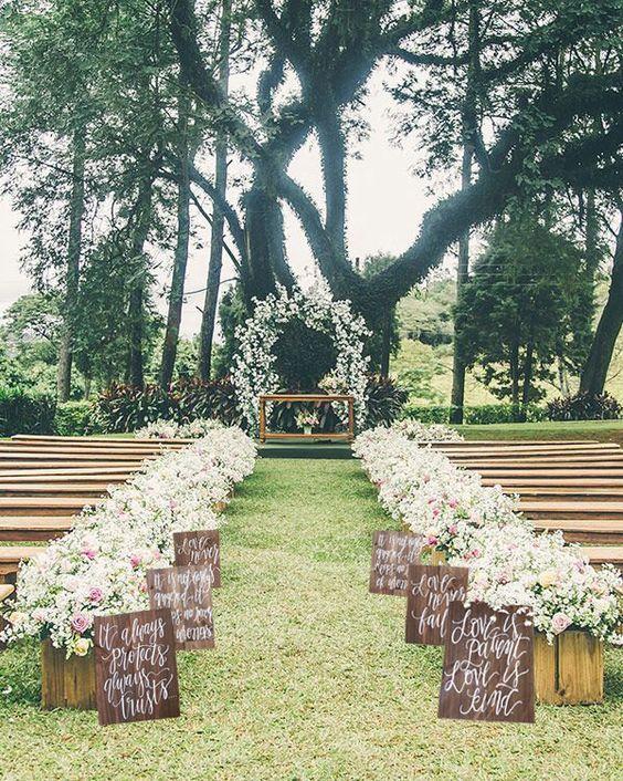 Outside Wedding Decorations