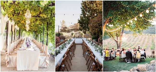 summer vineyard wedding ideas worth stealing