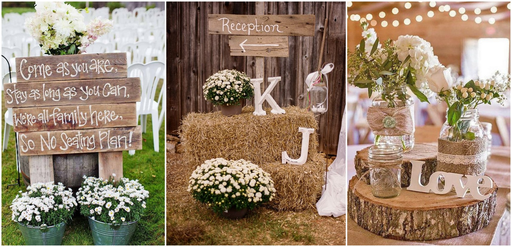 16 Rustic Country Wedding Ideas To Shine In