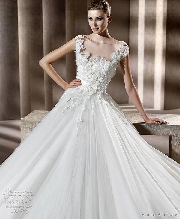 Ellie saab 2012 bridal collection for Elie saab 2012 wedding dresses