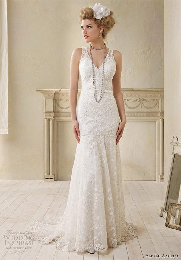 Modern Vintage Lace Wedding Dresses
