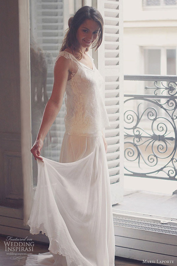 Marie Laporte Wedding Dresses 2013 Wedding Inspirasi