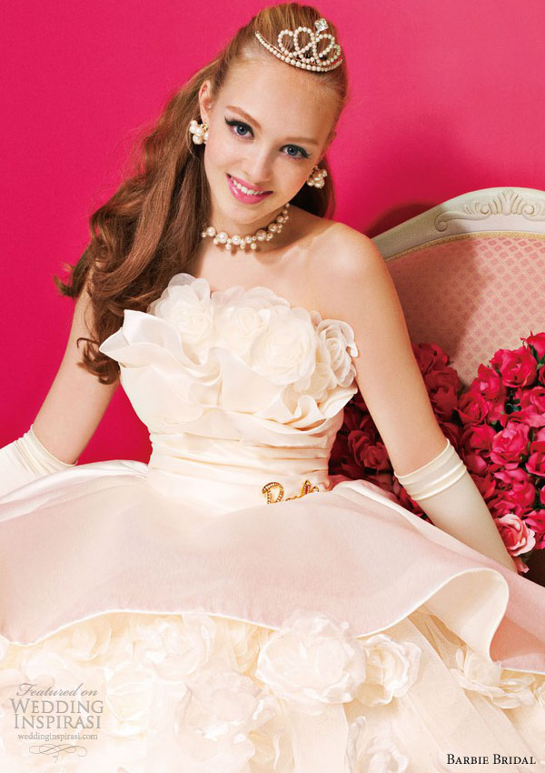 Barbie Bridal Wedding Dresses The Ninth Collection