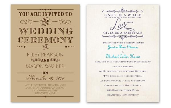 Budget Friendly Vintage Themed Wedding Invitations By Ann S Bridal Bargains