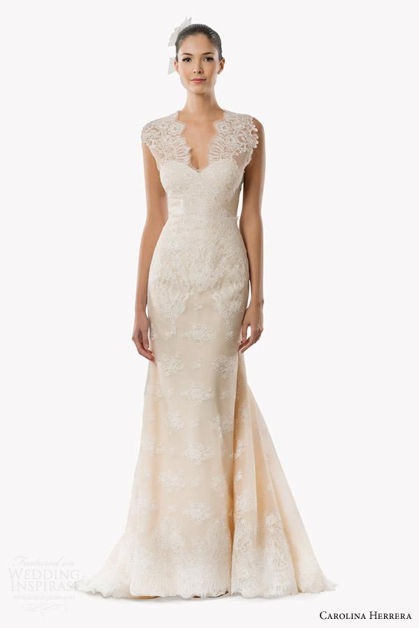b57e6bbb365b carolina herrera bridal fall 2015 wedding dresses wedding inspirasi