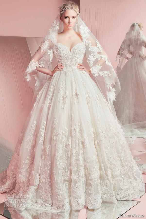 Zuhair Murad Wedding Dress.Zuhair Murad Bridal Spring 2016 Wedding Dresses Crazyforus