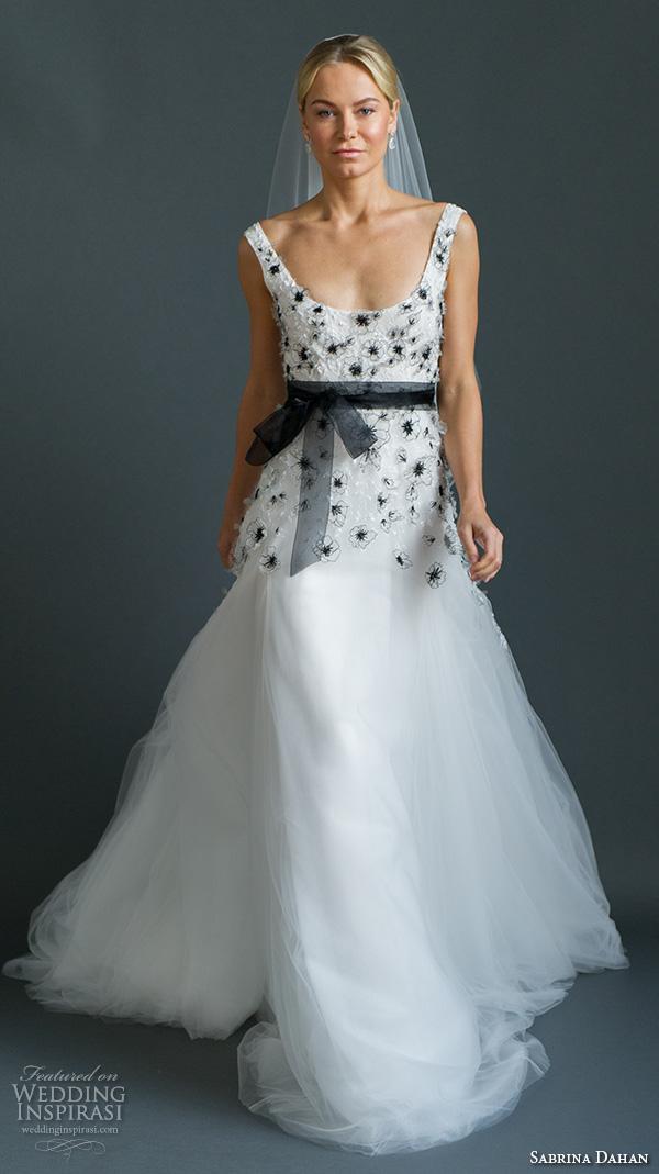 Sabrina Dahan Fall 2016 Wedding Dresses - crazyforus