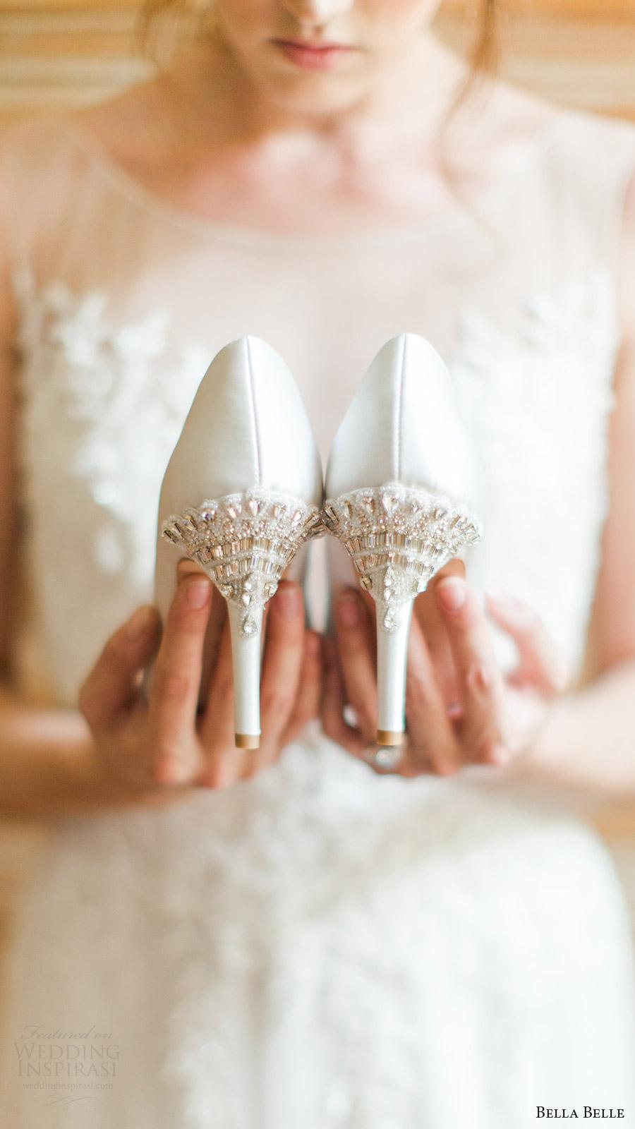 65b56fff1 bella belle bridal shoes 2016 elizabeth wedding pumps beaded heels
