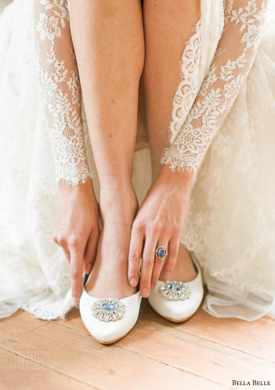 bella belle bridal shoes 2016 jackie wedding flats something blue stone