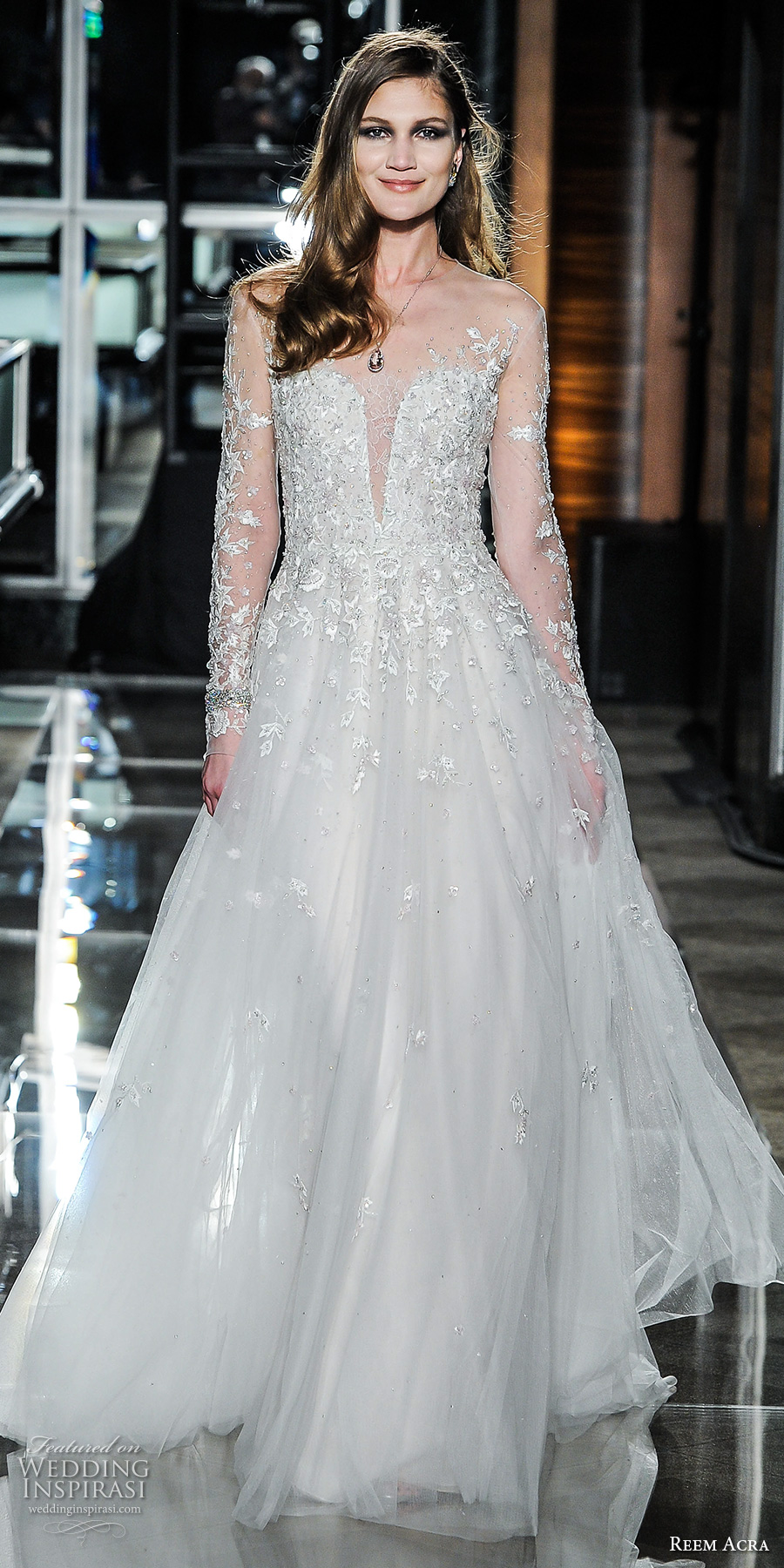 Reem Acra Spring 2018 Wedding Dresses - crazyforus