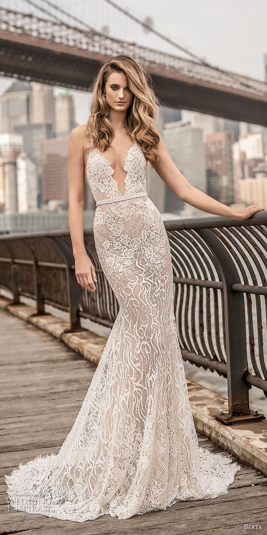 Berta Wedding Dresses.Berta Bridal Spring 2018 Wedding Dresses Part 2 Crazyforus