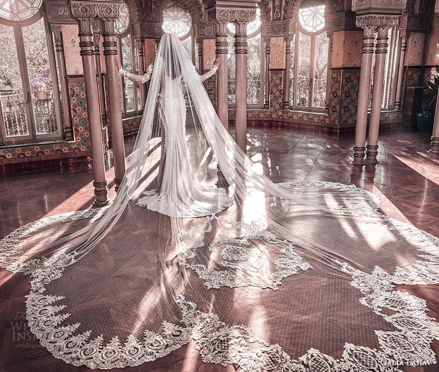 galia lahav spring 2018 long cathedral veil (esther) mv
