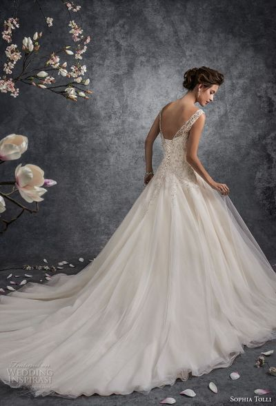 Trubridal Wedding Blog   Sophia Tolli Fall 2017 Wedding ...