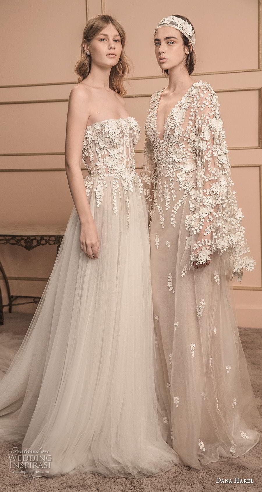 dana harel 2018 bridal romantic wedding gowns 1