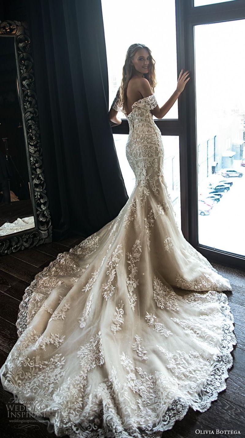 olivia bottega 2018 bridal off the shoulder sweetheart neckline full embellishment elegant sexy mermaid wedding dress chapel train (6) bv