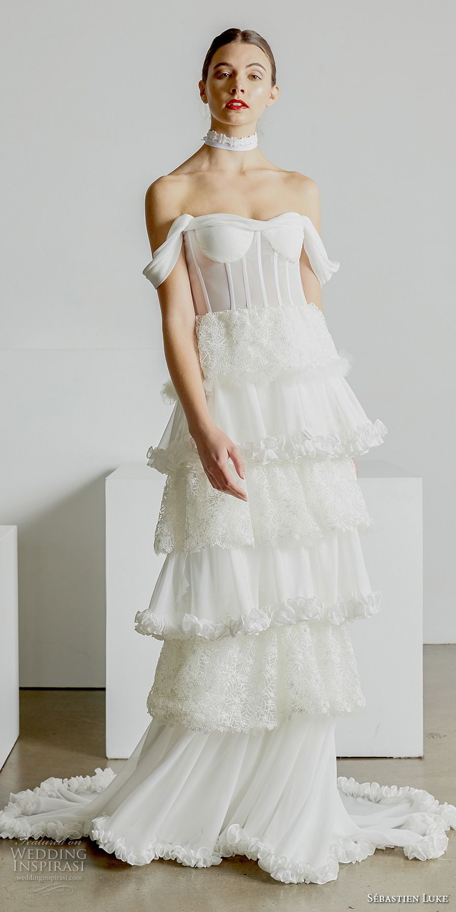 Sbastien Luke Spring 2019 Wedding Dresses Wedding Inspirasi
