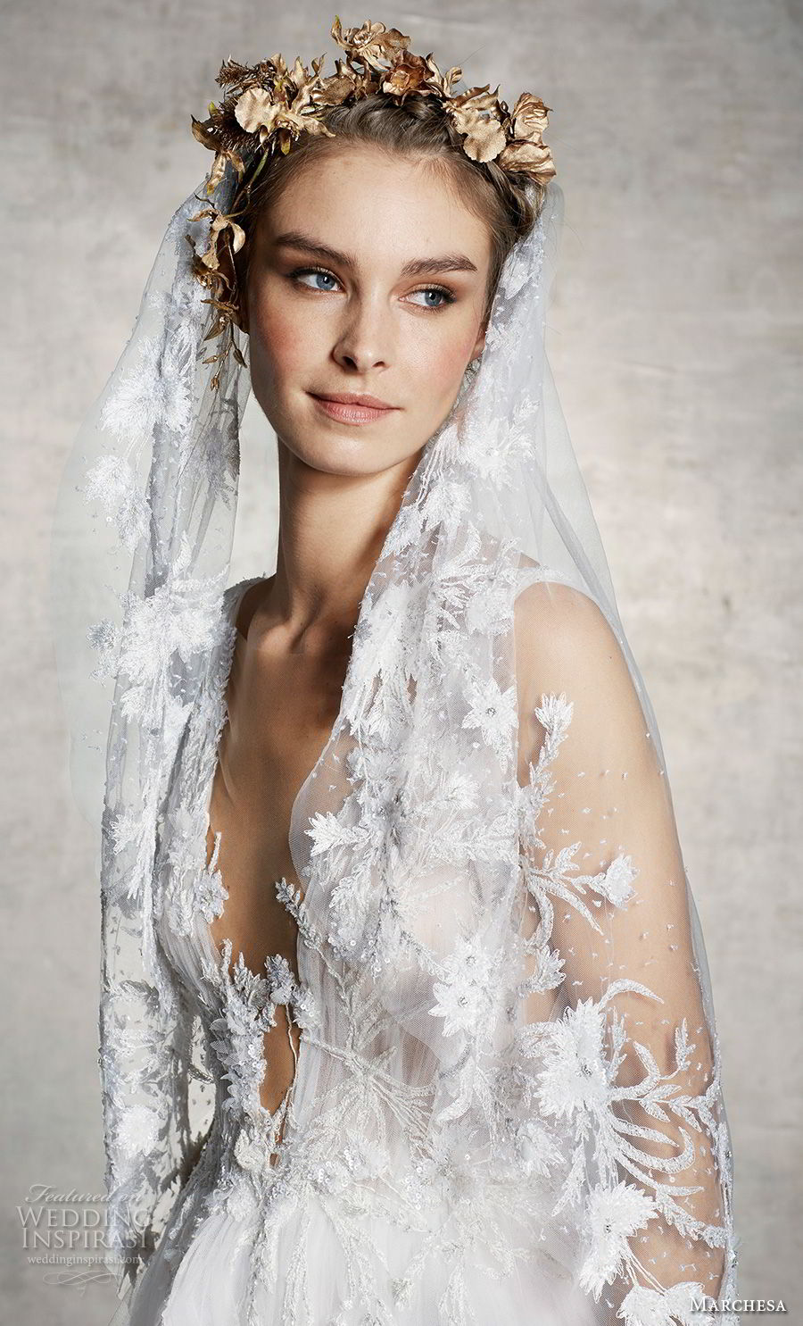 Marchesa Spring 2019 Wedding Dresses
