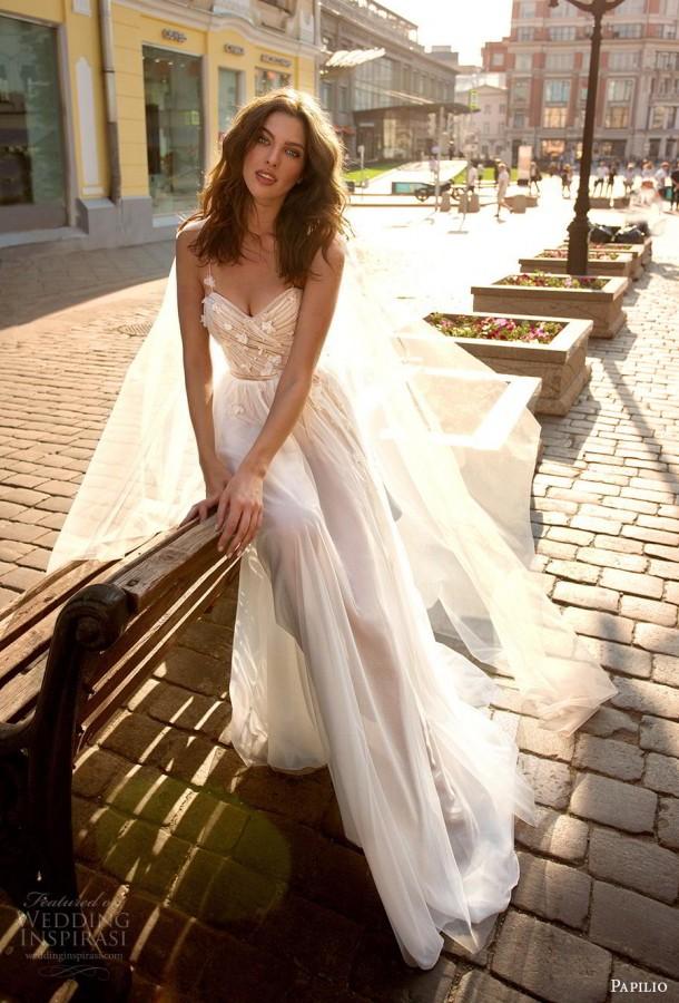 papilio 2019 Braut Hochzeit inspirasi vorgestellten Hochzeitskleider, Kleider und Kollektion