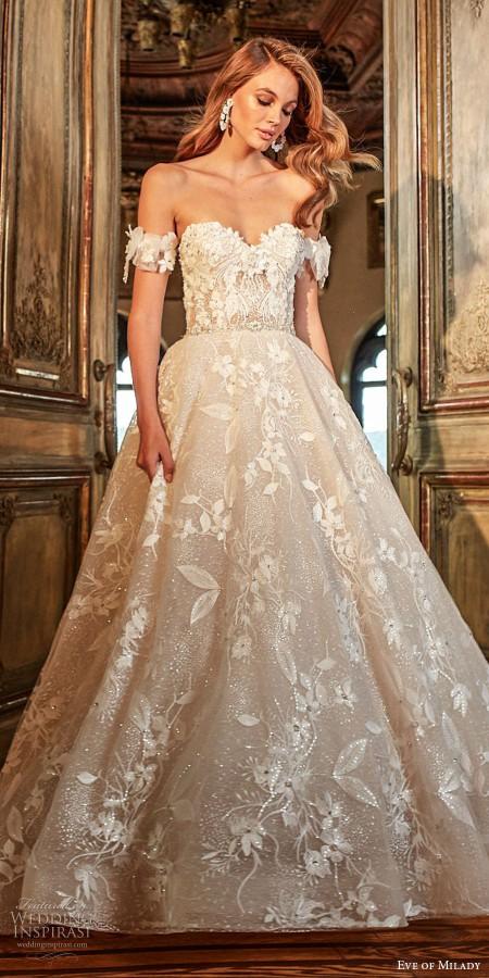 Vorabend der milady Herbst 2018 Brautkollektion auf Hochzeit inspirasi thumbnail