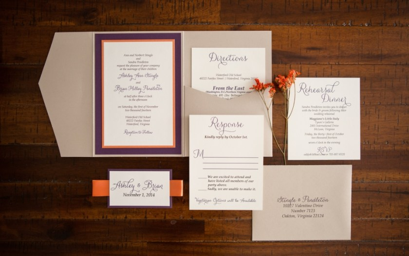 S Wedding Invitation Suite