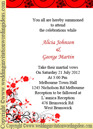 Best Wedding Invitation Cards Wording Sles 1107409 Top Design Photos