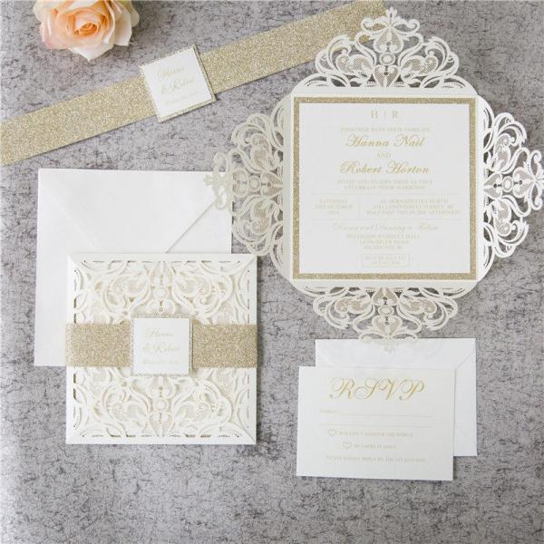 Rustic Twine Wedding Invitations