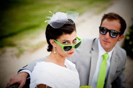 LDS bride and groom