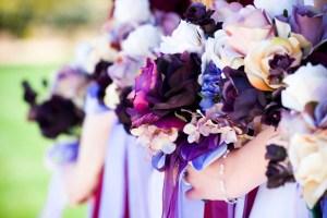 Analogous LDS Wedding Flowers