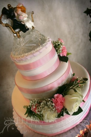 How to display a wedding cake at an LDS wedding Reception
