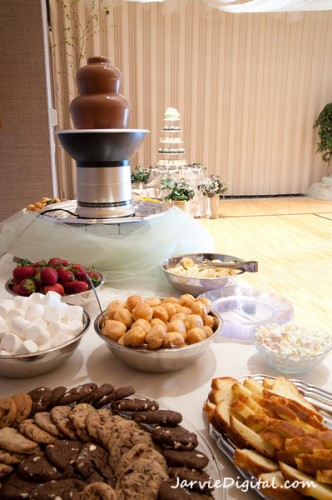 unique and fun food ideas for LDS receptions