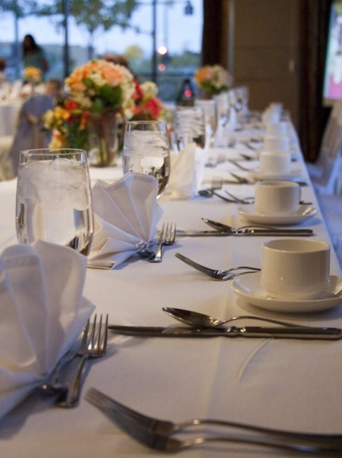 LDS wedding reception catering