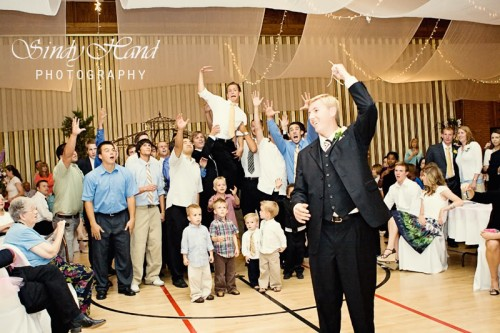 LDS wedding reception