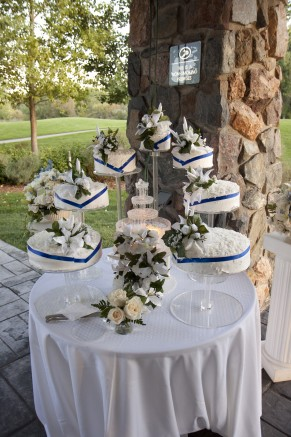 hot weather, how to display wedding cake during an LDS wedding reception
