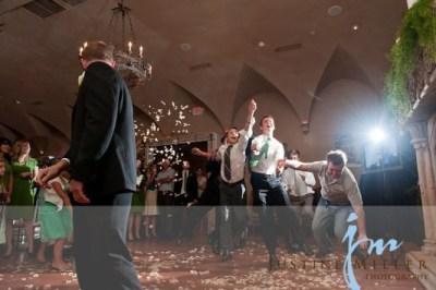 garter toss alternativesfor LDS wedding receptions